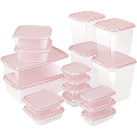 ZOEON Set di Contenitori per Alimenti, Lavastoviglie, Congelatore e Microonde Sicuro, Senza BPA Contenitori per Cereali, 17 Pezzi