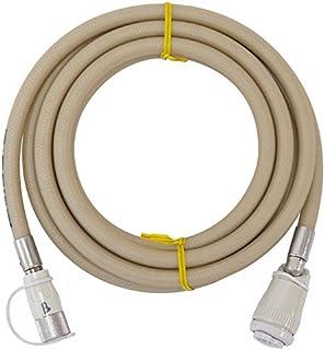 十川ゴム 都市ガス・LPガス兼用 ガスコード 3m 【ガスファンヒーター、タイマー付ガス炊飯器などの接続に】