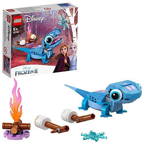 LEGO 43186 Disney Princess Personaje Construible: Bruni la Salamandra, Juguete y Regalo de Frozen 2 para Niñas y Niños +6 Años