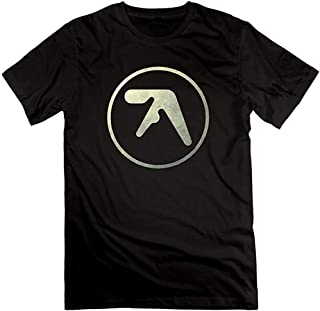 Trgdhj Valerie Audrey Mens Aphex Twin Logo Orphaned Syro Windowlicker Short Slev tee Tshirt