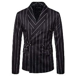 CATSAP Mens Party Dress Unique Suit Stylish Dinner Jacket Wedding Blazer Prom Tuxedo Sports Coat Business