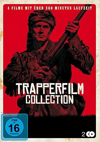 Trapperfilm Collection [2 DVDs] [Trapper, Wolf und Fährtensucher / Der letzte Mohikaner / Die Rache des Trappers / Black Robe]