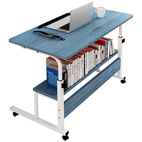 Haushaltsprodukte Laptop Schreibtisch Laptop Ständer für Schreibtisch Nachttisch Computer Schreibtisch Lift Lazy Tisch Sofa Beistelltisch Höhe einstellbar mit Rollen Geeignet für Home Office Lesen