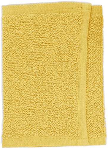 Toalla amarilla de mano, 30 x 15 cm