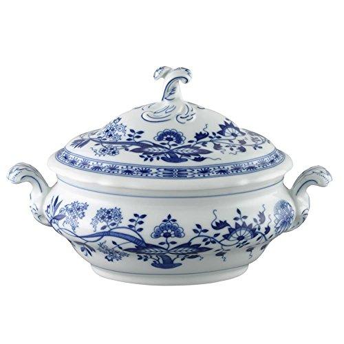 Hutschenreuther Blau Zwiebelmuster Schüssel mit Deckel, Schale, Porzellan, 1.5 L, 11320