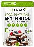 Eritritolo 100% naturale 1 Kg granulato | Sostituto dello zucchero a ZERO Calorie...