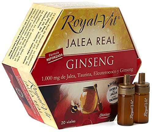 Royal-Vit Jalea Real - Ginseng - 20 viales
