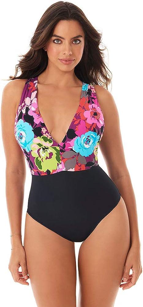 Skinny Dippers Women's Swimwear Max 76% OFF Flower Plunge N Godiva Shop Popular overseas Lady