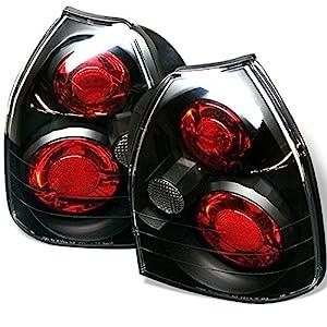 96-00 Honda Civic 3 Door Hatch tail lights gasket set pair