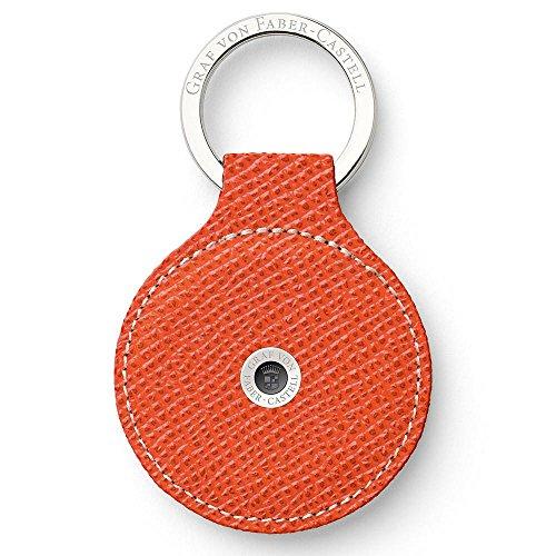 Graf von Faber-Castell Epsom Schlüsselanhänger, 5 cm, Burned Orange