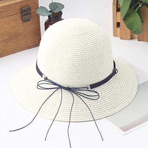 Sombrero para El Sol Sombreros para Visera Sombreros De Paja Casuales para Adultos Chica Mujer Gorra Sombrero De Borla De Verano Playa Sombrero De Verano Playa