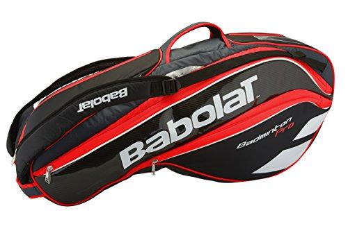 Babolat Racket Holder X 8 Badminton Pro Line Red/Fluo Badmintontasche