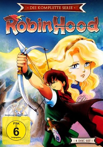 Robin Hood - Die komplette Serie (Episoden 1-52) [4 DVDs]