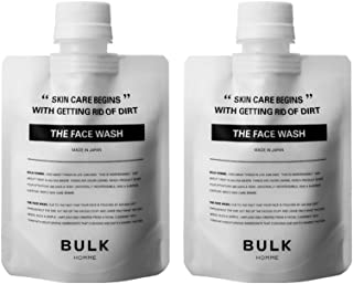 バルクオム 洗顔料 100g 2個セット ( メンズ スキンケア 男性 洗顔 濃密 泡 毛穴 おまとめセット) BULKHOMME THE FACE WASH