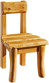 All footrest stools All solid wood Small stool Kids stool Simple home stool Living room Shoe change Bench Log Furniture (C...