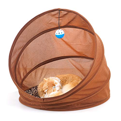 HMG 45X45cm multifunción Invierno Cama Plegable túnel for Mascotas Juguete for Mascotas