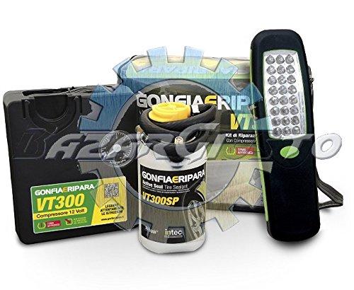 GONFIAERIPARA autovetture c/polizza + Lampada LED