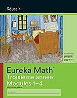 French - Eureka Math Grade 3 Succeed Workbook #1 (Module 1-4)