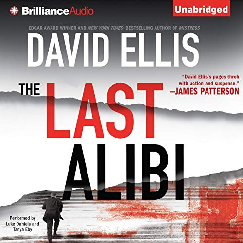 The Last Alibi audiobook cover art