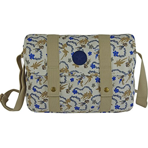 CONVERSE Umhängetasche Satchel Schultertasche Handtasche Damentasche Hawaiian Print