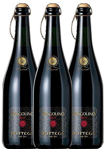 3er Paket - Fragolino Rosso Frizzante - Bottega