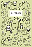 Notebook: Llama Alpaca - Notebook for Drawing, Sketching, Doodling, Painting and Writing: 6x9 120 White Pages for Kids, Girls, Boys, Teens, and Students