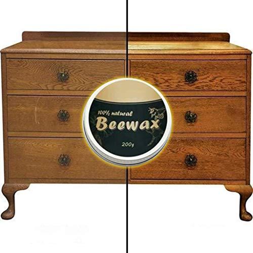 Antik Wachs 20 ml - 100% Natürliches Bienenwachs Multifunktionale Möbelpflege Wachs Pflegemittel für hochwertige, gewachste Oberflächen