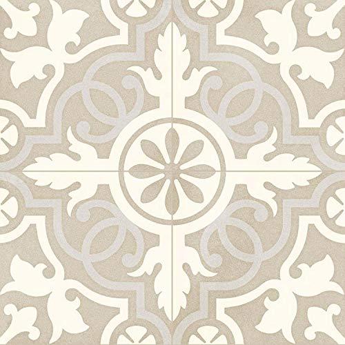 Casa Moro Mediterrane Keramik-Fliesen Tufan 20x20 cm 1qm aus glasiertem Feinsteinzeug in Zementoptik | Marokkanische Bodenfliesen & Wandfliesen für Bad Küchenrückwand Küche | FL7090