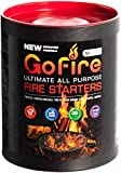 GoFire Fire Starters, Waterproof, Non Toxic, Packable Fire Starter! Perfect...