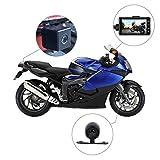 Rider Biker 's Kamera, Motorrad-Action-Kamera, Sportkamera mit DVR-Armaturenbrettkamera mit...