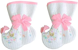 Socks for Hanbok Korea Traditional Beoseon 1 Age 12 Months Baby Girl First Birthday Dohl Pastel Pink Embroidery