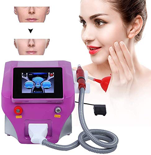 Youruo Portable Nd Yag Laser Picosecond Laser with Carbon Peel Skin Whitening Tattoo Removal Machine for Makeup Beauty Machine for Salon or Home Use