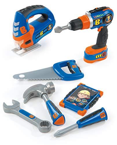 Smoby 7600360134 - Werkzeugset Bob der Baumeister 8-teilig