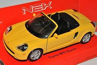 Toyota MR2 ZZW30 W3 Cabrio Rot 1999-2007 Kit Bausatz 1//24 Fujimi Modell Auto mit