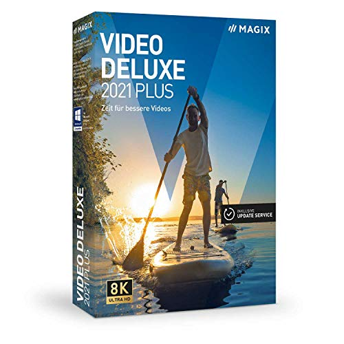 Video deluxe 2021 Plus – Zeit für bessere Videos!|Plus|mehrere|limitless|PC|Disc|Disc