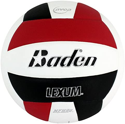 Baden Lexum Composite Game Volleyball Red White Black Size 5 product image