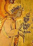 Kunst für Alle Impresión artística/Póster: Simone Martini Annunciation to Mary - Impresión, Foto, póster artístico, 50x70 cm