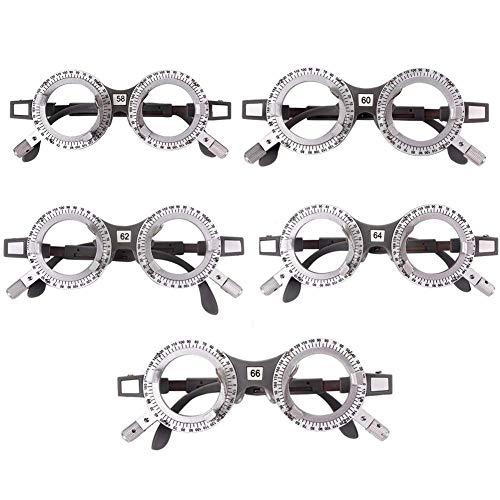 5 STÜCKE Optischer Testlinsen, Optometrie Rahmen Mit Genaue Skala ,Optometrie Instrument ,Augenklinik Optiker Arzt Büro Dekor | 138 X 127 X 48 MM