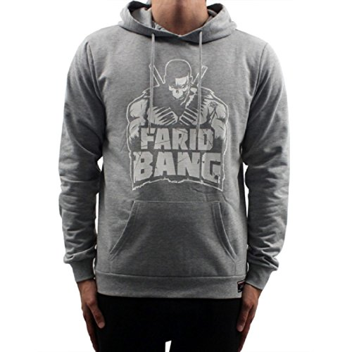 Farid Bang Hoodie Logo grau (S)