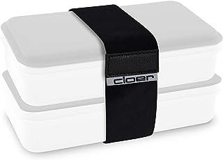 Cloer 800C8ES elastisk förslutningsrem för Lunch Care System, för fixering av 2 matlådor
