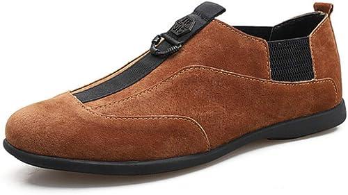 Mocassins Pour Hommes Mocassins Chaussures De Conduite Fait Fait Fait Main Chaussures De Conduite En Daim Chaussures Bateau En Cuir Pantoufles 03c