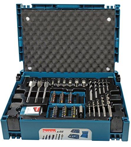 Makita B-43044 Bit Set, Blue/Black