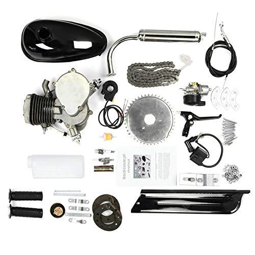 Kit Motore Per Bicicletta 80CC, S SMAUTOP Kit Motore a Benzina per Bicicletta a 2 Tempi da 26' 28' Facile da Montare e Costruire, Kit Motore a Benzina Bici a Risparmio Energetico con Serbatoio 2,5L