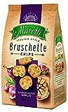 Maretti Bruschette Chips Ajo asado Lento - Chips de Pan con ajo asado - Chips de bruschetta, 150 g