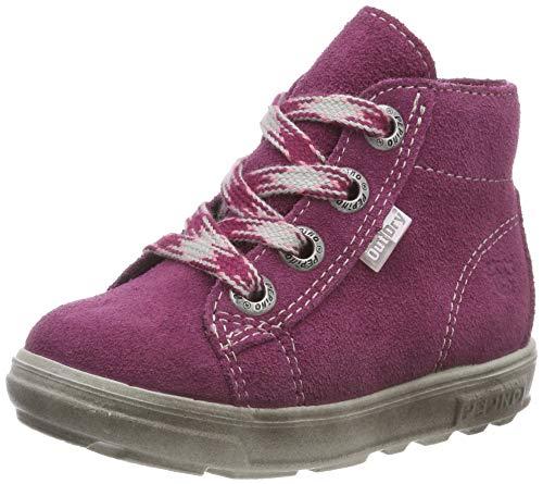 RICOSTA Mädchen ZAINI Hohe Sneaker, Rot (Fuchsia 364), 24 EU