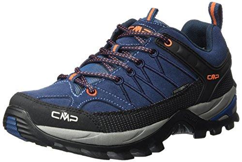 CMP Rigel Low Wp, Zapatillas de Senderismo Hombre, Turquesa (Artico-chili), 39 EU