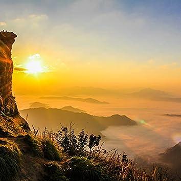 Ziyang Huiyan sipping tea watching the cloud waves from the mountain top instrumental