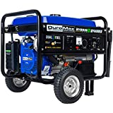 Duromax XP4400EH Dual Fuel 4400 Watt Electric Start Portable Generator