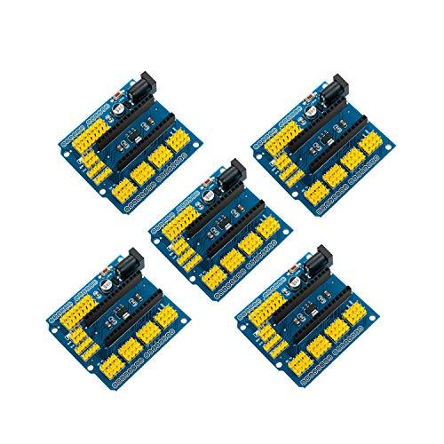 5PCS Nano I/O espansione sensore Modulo Shield board per UNO R3 Nano V3.0