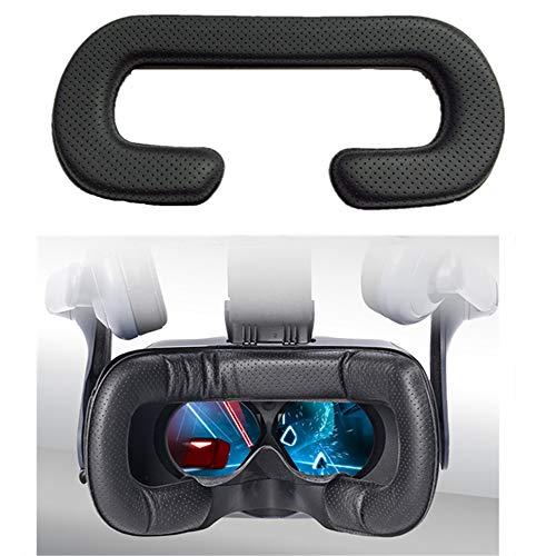 ZGBQ Cojín de Cuero Cara y Ojo Espumas de Soporte Almohadilla Soporte de Interfaz Facial Reemplazo de la Cubierta Protectora para Oculus Rift/vivePro/Vive/Gear VR Gafas (For Vive)